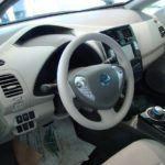 Chris Nagy 2011 Georgian College Auto Show Nissan Leaf Interior