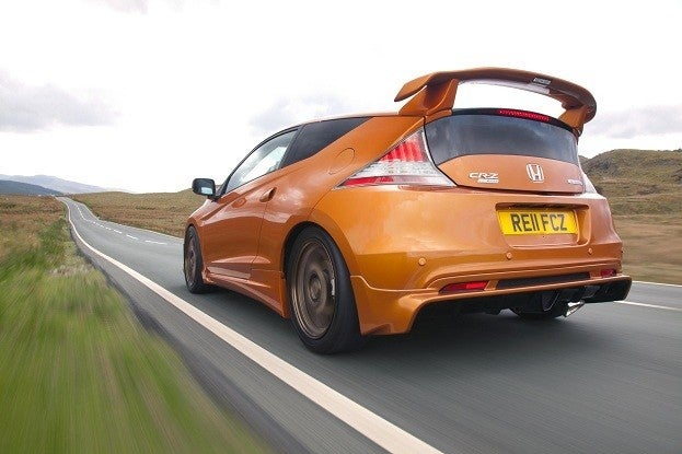 Mugen Honda CR-Z rear