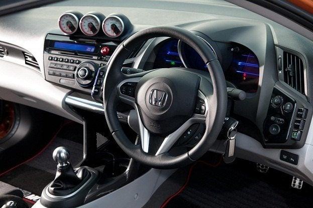 Mugen Honda CR-Z interior