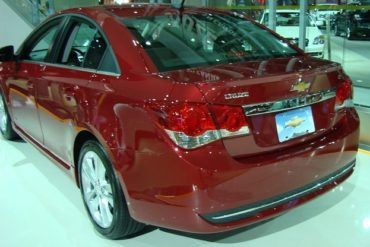 2011 Canadian International Auto Show 2011 cruze rear