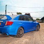 2011 Subaru WRX STI rear