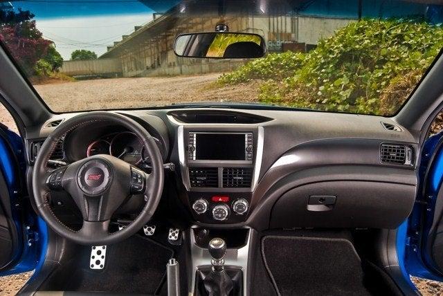 2011 Subaru WRX STI cockpit