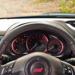 2011 Subaru WRX STI dash