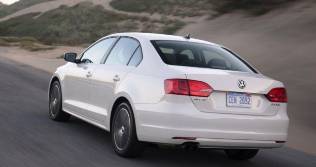 2011 VW Jetta SEL rear