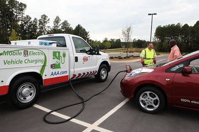 AAA mobile EV charger
