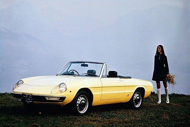 Alfa Romeo Spider Fastback 1962-1983