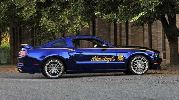 Blue Angels Edition 2012 Ford Mustang GT