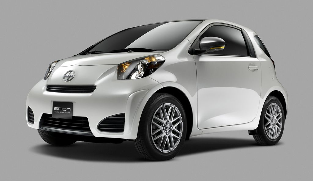 Scion iQ Minicar Front View