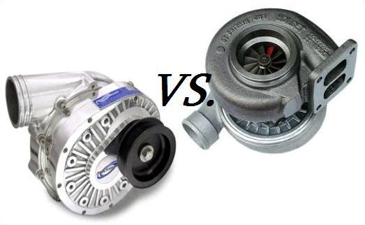 Turbo vs. Supercharger