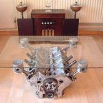 V-8 Coffee Table
