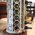 Jag V-12 Wine Rack