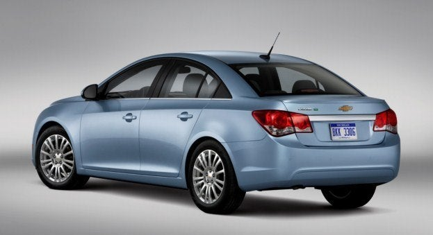 2012 Chevrolet Cruze ECO rear