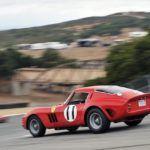 Ferrari 250 GTOs Swarm Laguna Seca