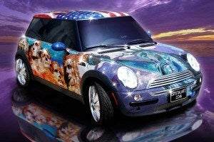 MINI Cooper crystalart1