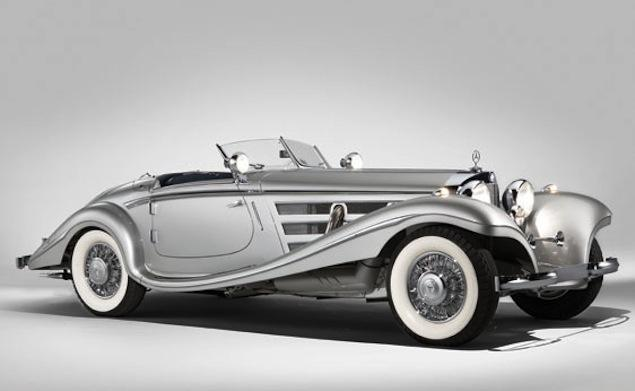 Rare Pre-War Mercedes At Auction