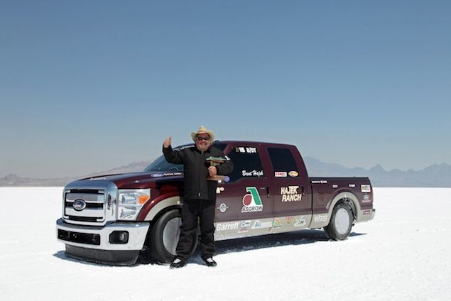 Diesel And Biodiesel Land Speed Records Set Using A Ford F-250 Super Duty
