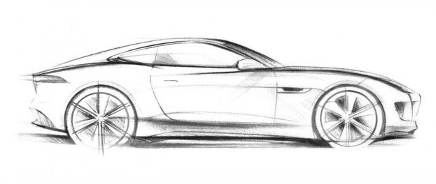 Frankfurt Preview: Jaguar Releases Sketch of C-X16 Concept 17