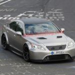 Aggressive Lexus LS Spotted Testing At The Nurburgring