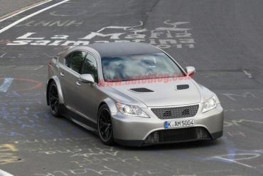 Aggressive Lexus LS Spotted Testing At The Nurburgring  18