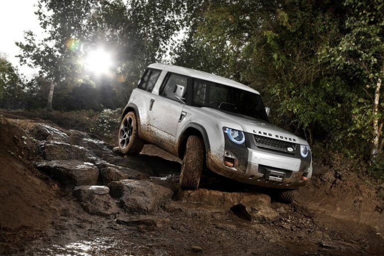 Land Rover Tests Waters For Next Defender with DC100 Concept 23