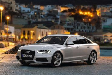 AudiA6FrontViewSilver2