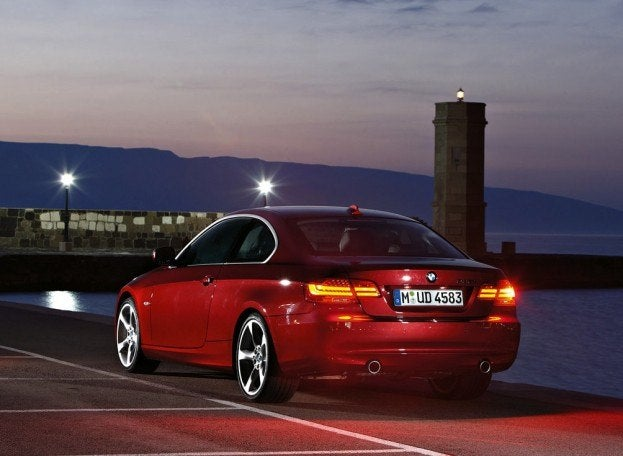 BMW3 SeriesCoupeRearView