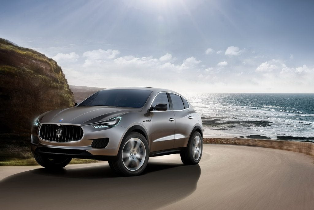 MaseratiKubangSUVFrontView