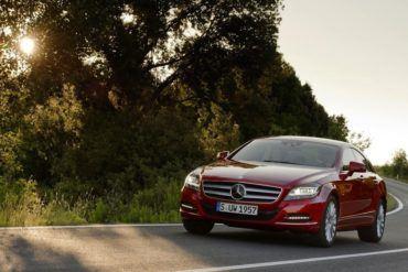 Mercedes Benz CLS Class 2012 1024x768 wallpaper 1f