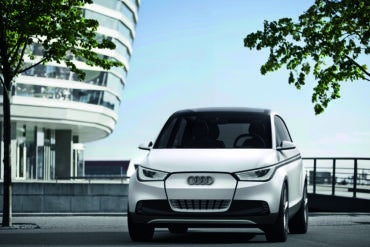 Frankfurt: Audi Releases New Images of A2 Concept 16