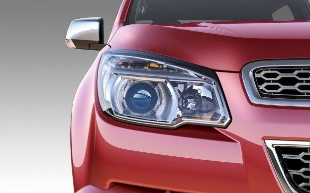 2012 Chevy Colorado headlight