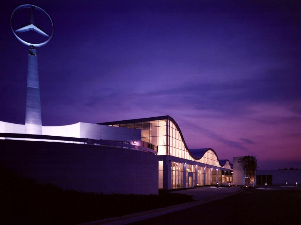 Made in america mercedes benz announces new model at for Mercedes benz tuscaloosa alabama