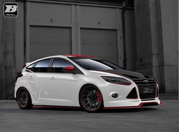 Customized 2012 Ford Focus by Bojix Design
