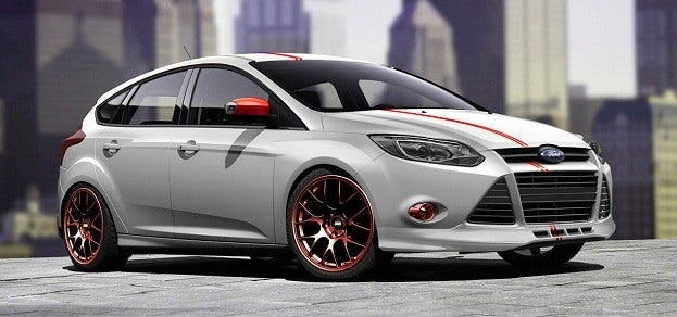 Customized 2012 Ford Focus by 3dCarbon