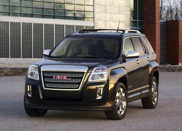 GMC Terrain 2010 1024x768 wallpaper 02