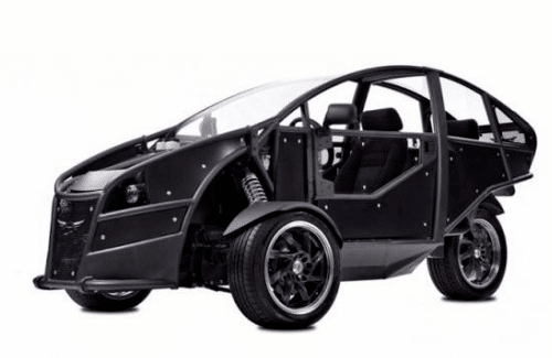 Acrimoto Green Concept Car
