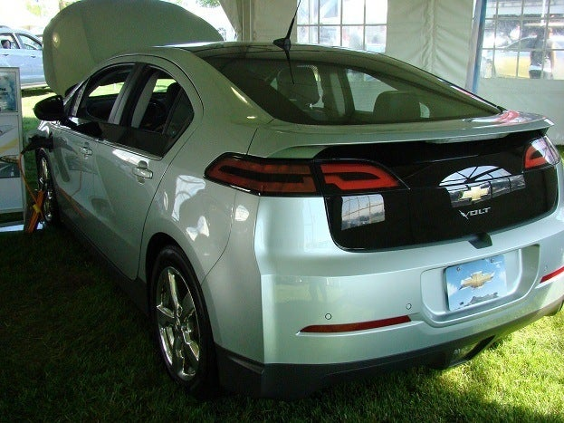 2011 Georgian College Auto Show chevy volt