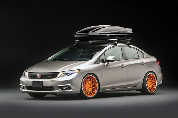 Aftermarket Drives Honda's 2012 Civic Plans at SEMA