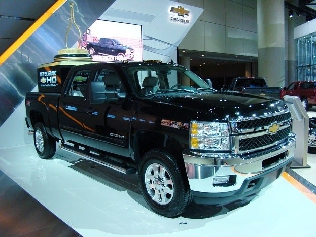 Chevrolet Silverado 2011 Canadian International Auto Show Chris Nagy