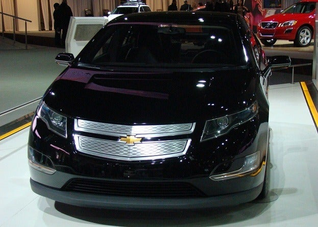 Chevrolet Volt at 2010 Toronto Auto Show Chris Nagy