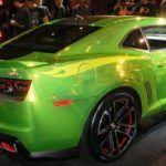 Chevy Camaro Hot Wheels Concept rear
