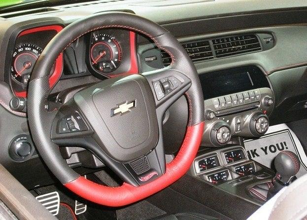 Chevy Camaro Hot Wheels Concept interior