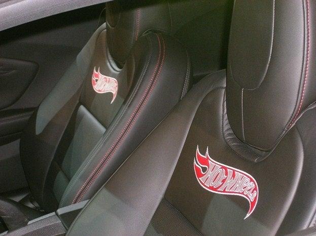 Chevy Camaro Hot Wheels Concept seatbacks