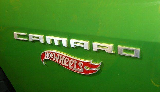 Chevy Camaro Hot Wheels Concept badge