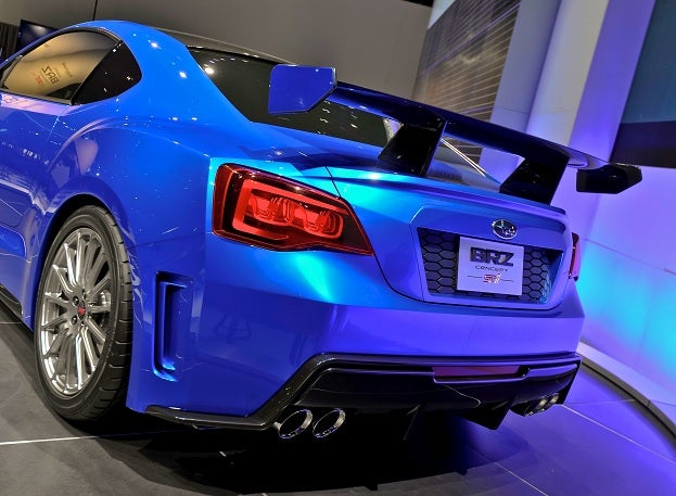 Production Bound Subaru BRZ Sports Car Debuts In Tokyo - Automatic sports cars