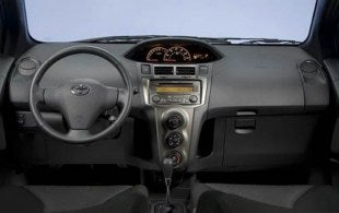 2011 Toyota Yaris interior
