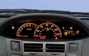 2011 Toyota Yaris gauges