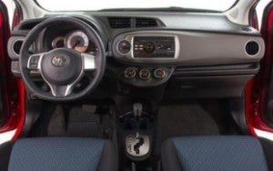 2012 Toyota Yaris interior