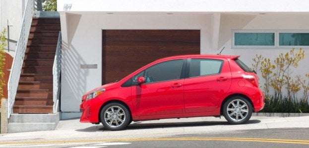 2012 Toyota Yaris SE side