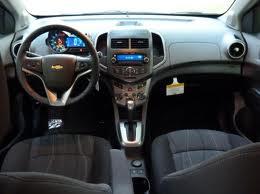 2012 Chevy Sonic interior