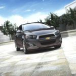 2012 Chevy Sonic Sedan Front